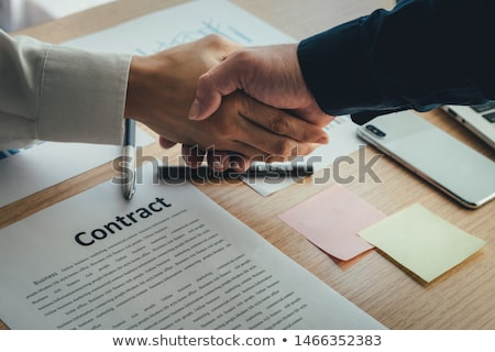 Contract Agreement Vision Stock photo © Lightsource