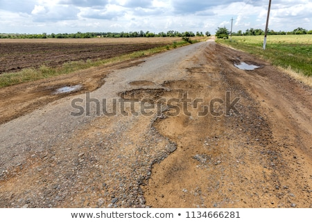 Rough road  Stock photo © Lightsource