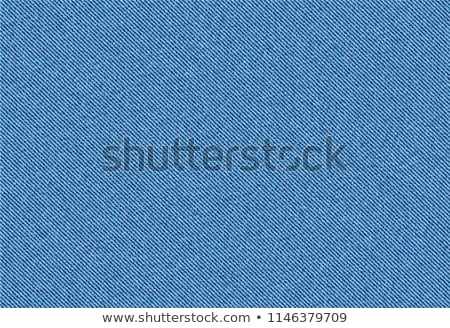 Denim Fabric Texture - Blue Stock photo © eldadcarin