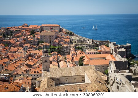 Old Basilica in Dubrovnik, Croatia Stock photo © anshar