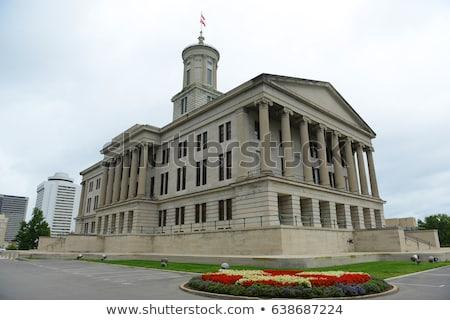 Tennessee budynku niebo miasta miejskich struktury Zdjęcia stock © AndreyKr