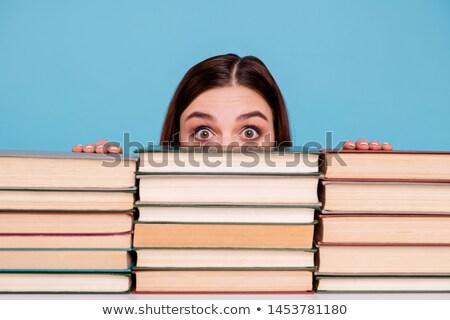 Libri intellettuale bellezza libro scuola bambino Foto d'archivio © Gloszilla