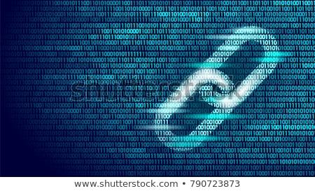 Gegevens overdragen computer veiligheid code abstract Stockfoto © stevanovicigor