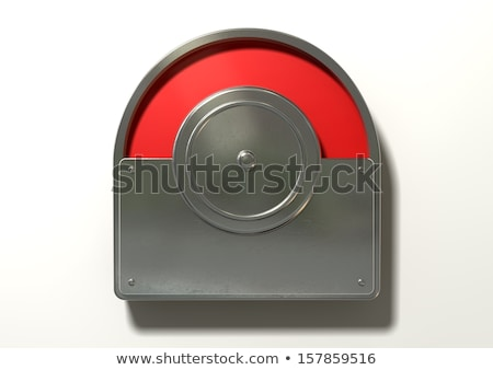 Toilet Indicator Red For Occupied Stock photo © albund