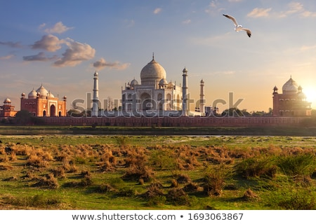 Taj Mahal, Mausoleum in Agra Stock photo © faabi