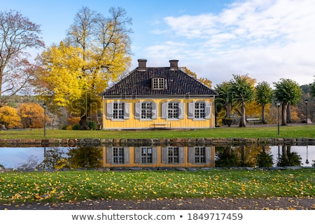 Old cottage Stock photo © Kurhan