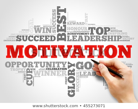 Motivation. Wordcloud Concept. Stock photo © tashatuvango
