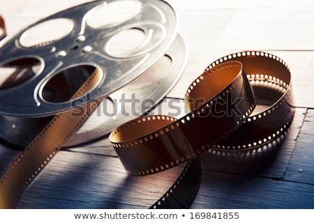 Film Reel старые кинофильм фильма кино ретро Сток-фото © Hofmeester