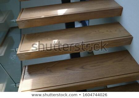 Wooden steps Stock photo © trgowanlock