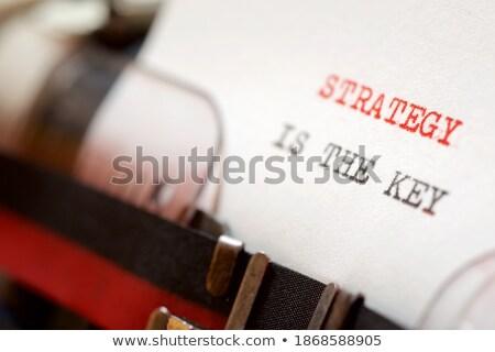 growth on old typewriters keys stock photo © tashatuvango