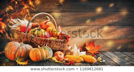 appel · jam · vruchten · houten · tafel · najaar · buitenshuis - stockfoto © yaruta