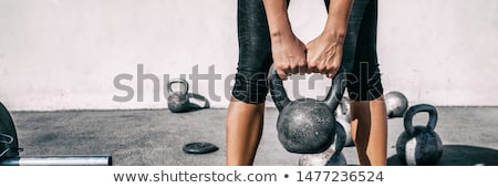 Heavy Kettlebell Stock photo © Stocksnapper
