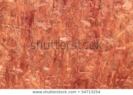 Orange coated recycled oriented strand board close up. Stock photo © latent