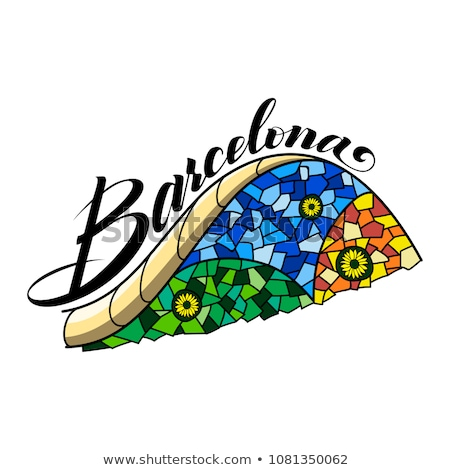 cartoon barcelona stock photo © blamb