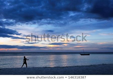 Afrika deniz manzara eski kamu alan Stok fotoğraf © vavlt