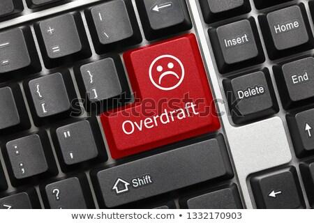 赤 キーボード ボタン 黒 コンピュータのキーボード ストックフォト © tashatuvango