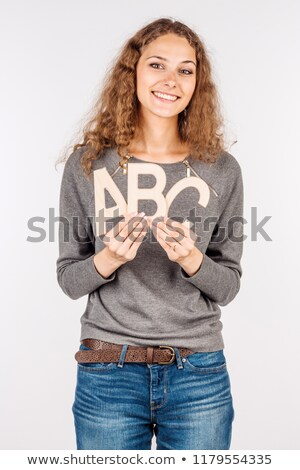 fun wording isolate on white background Stock photo © vinnstock