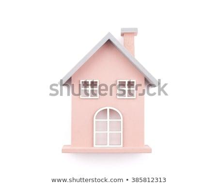 Játék ház izolált fehér üzlet otthon Stock fotó © Nobilior
