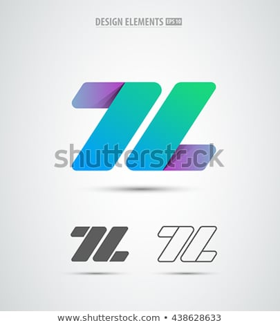 Lettera l verde logo vettore elemento simbolo Foto d'archivio © blaskorizov