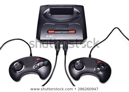 drive controller on black control console stock photo © tashatuvango