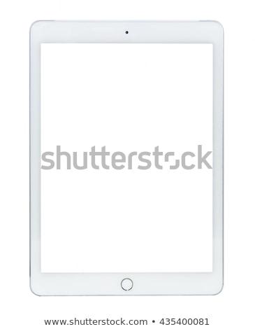 черный изолированный белый связи информации Сток-фото © tetkoren