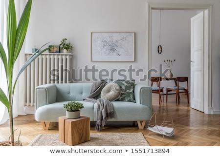 oda · pencere · tablo · mobilya · sandalye - stok fotoğraf © paha_l