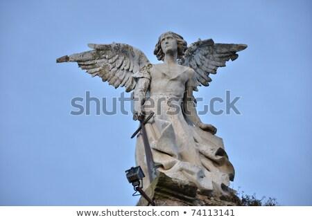 avenging angel Stock photo © prill