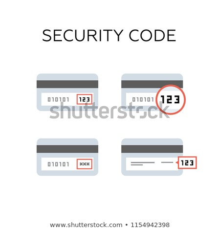 veiligheid · code · icon · ontwerp · business · geïsoleerd - stockfoto © wad