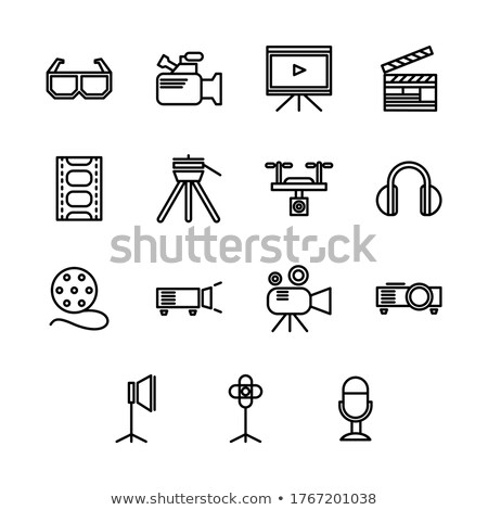 Things related to movies Stock photo © bluering