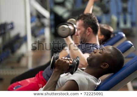 uomo · maturo · salute · club · maturo · bodybuilder - foto d'archivio © jasminko