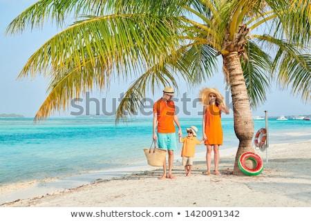 mãe · criança · tocante · palms · mulher · mão - foto stock © valeriy