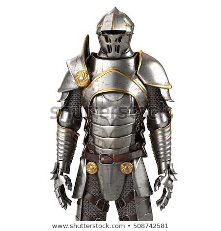 medieval armor warrior Stock photo © tony4urban