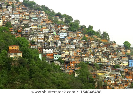 Rio de Janeiro Brazília tipikus város tájkép városi Stock fotó © meinzahn