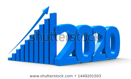 Business graph representing growth Stock photo © gravityimaging