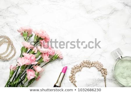 set of bridal wedding accessories stock photo © svetography