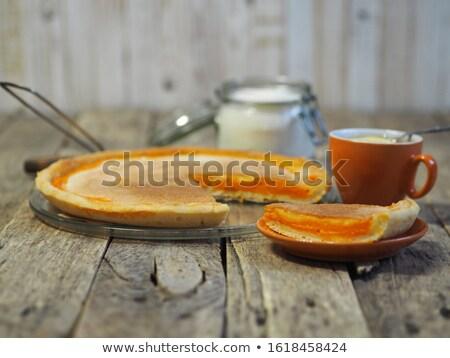 ahşap · masa · ev · hasat · sezon - stok fotoğraf © dolgachov