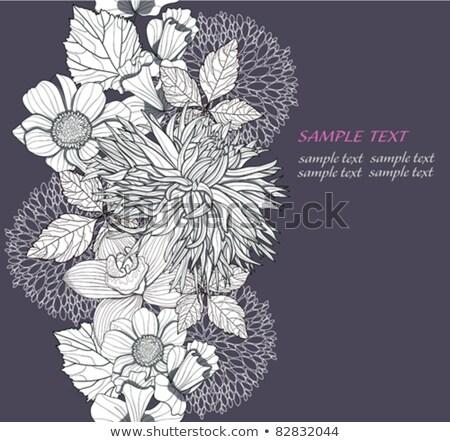 Modello abstract modello di fiore business ufficio Foto d'archivio © SArts