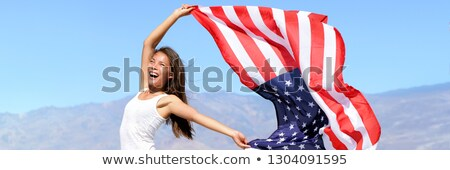 beautiful 4th of july american banners and headers Stock photo © SArts