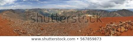 Szczyt panorama san juan Colorado krajobraz Zdjęcia stock © pancaketom