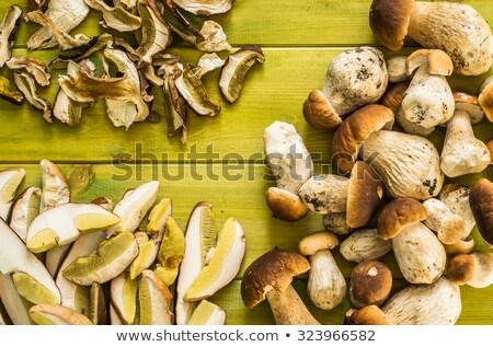 Tutto boletus funghi bianco Foto d'archivio © Digifoodstock