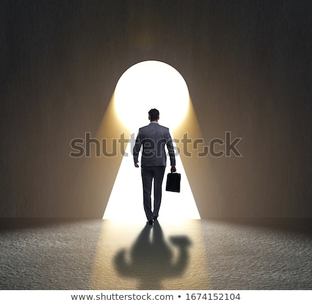 choices of a businessman and difficult career concept stock photo © alphaspirit