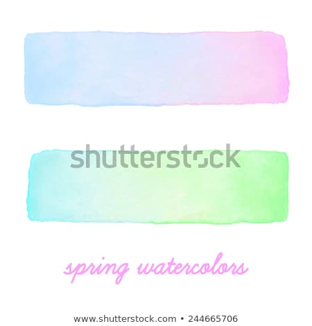 watercolor gradient banners set stock photo © pakete