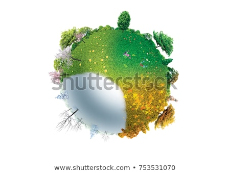 Four season spheres Stock photo © jagoda