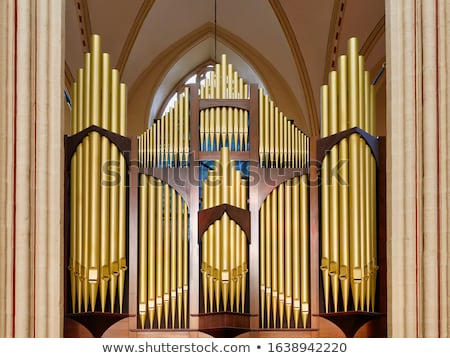 church pipe organ Stock photo © tony4urban