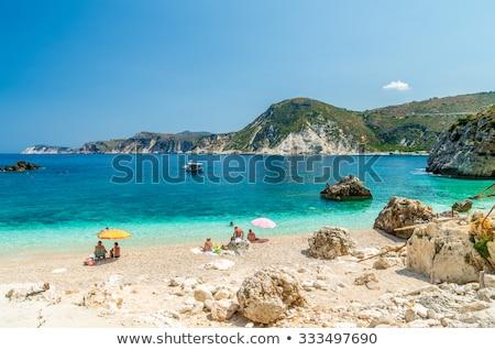 красивой пляжей острове невероятный природы пляж Сток-фото © Freesurf