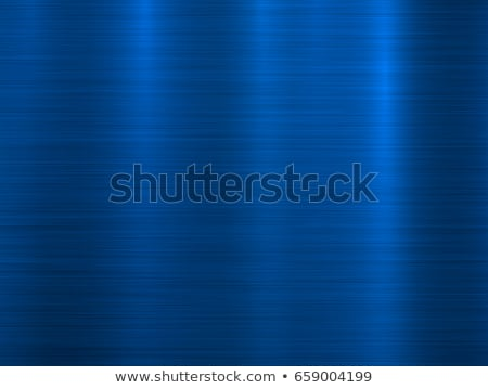 Blue Metal Abstract Technology Background. Polished, Brushed Texture. Chrome, Silver, Steel, Aluminu Stock photo © pikepicture