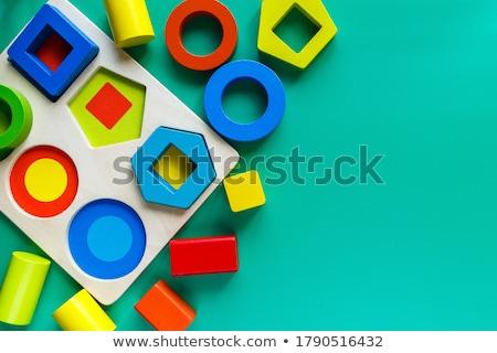 Logika zöld puzzle fehér 3d render gondolkodik Stock fotó © tashatuvango