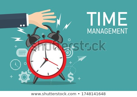 Productivity - Cartoon Blue Text. Business Concept. Stock photo © tashatuvango