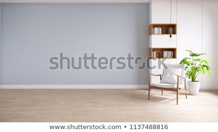 leer · Schlafzimmer · Licht · home · Zimmer · Lampe - stock foto © monkey_business