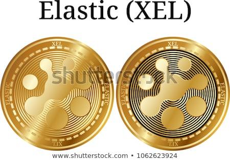 Flexível virtual moeda vetor comércio assinar Foto stock © tashatuvango